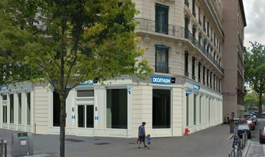 Nouveau concept de centre-ville: un «Decathlon city» a ouvert ses portes dans le quartier Grôlée à Lyon