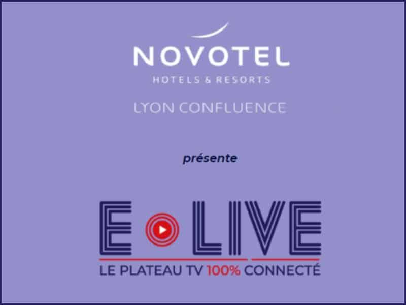 Novotel Lyon Confluence présente E-Live, son espace de réception pour Events dématérialisés