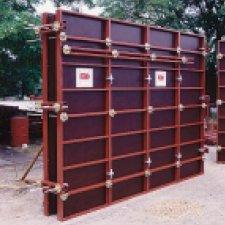 OMEGA, banches métalliques de coffrage mixte acier bois