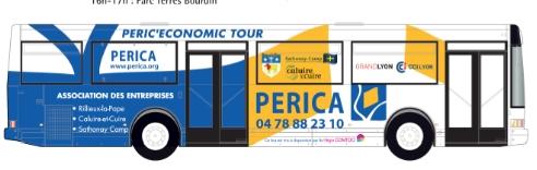 Original: en bus à la rencontre des chefs d'entreprises du plateau Nord de Lyon…