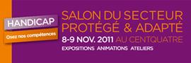 Osez nos Compétences : Premier salon des ESAT et EA de Paris et d'Ile-de-France les 8 et 9 novembre 2011