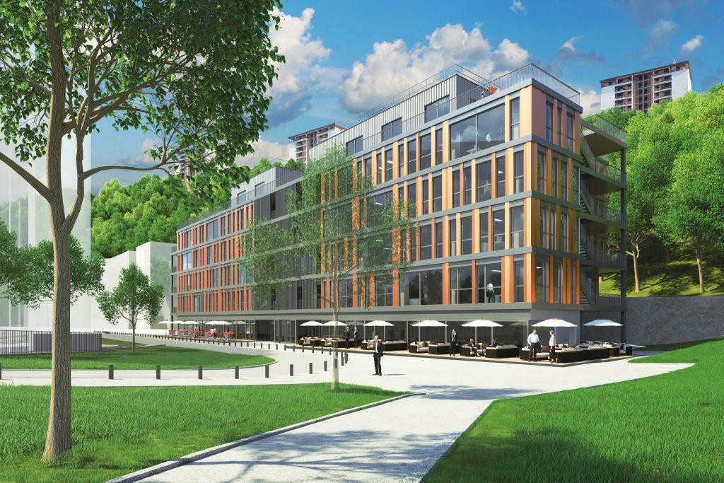 Livraison prévue fin 2020 : Newton Offices va s'installer sur 5 600 m2 à Lyon Vaise