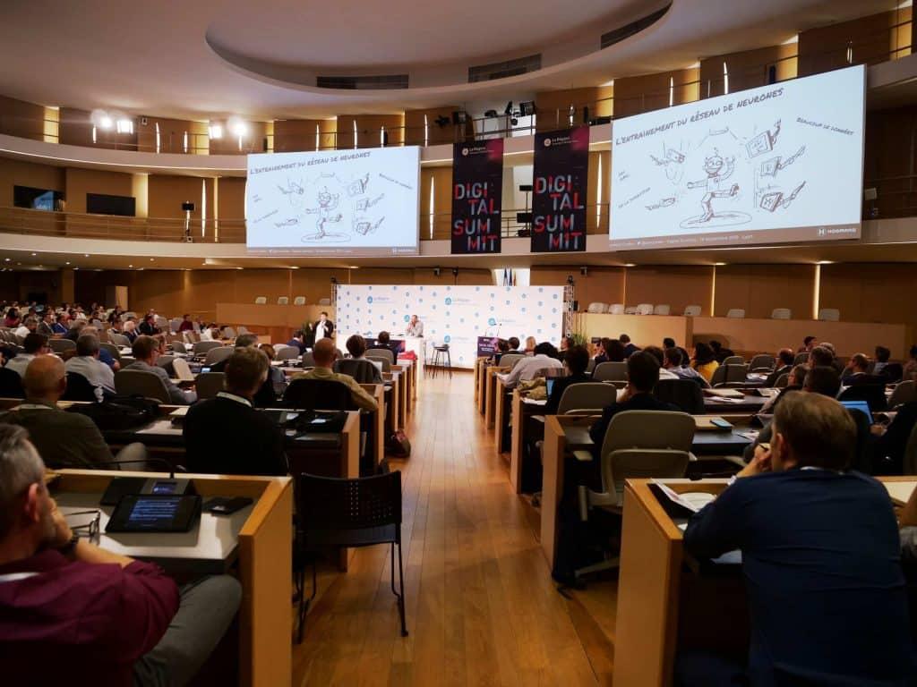 Une conférence lors du Digital Summit 2019