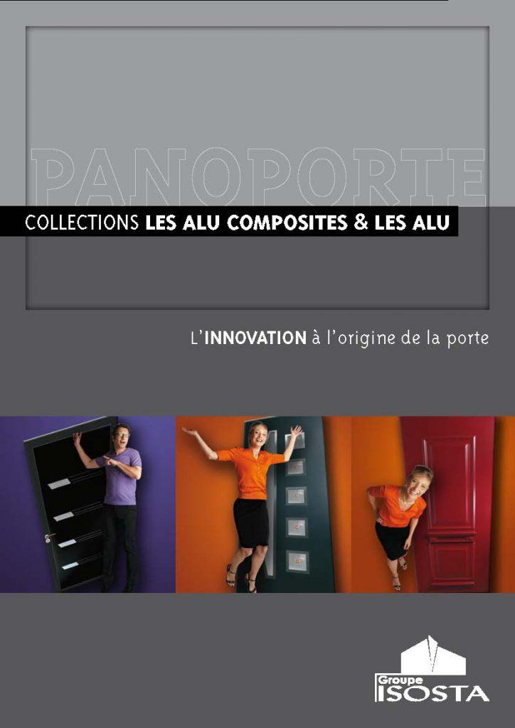 PANOPORTE, une collection de portes alu composites chez OPTI-ENERGIE