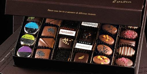 Collection PASSION - Cadeau d'affaires Chocolatier Voisin