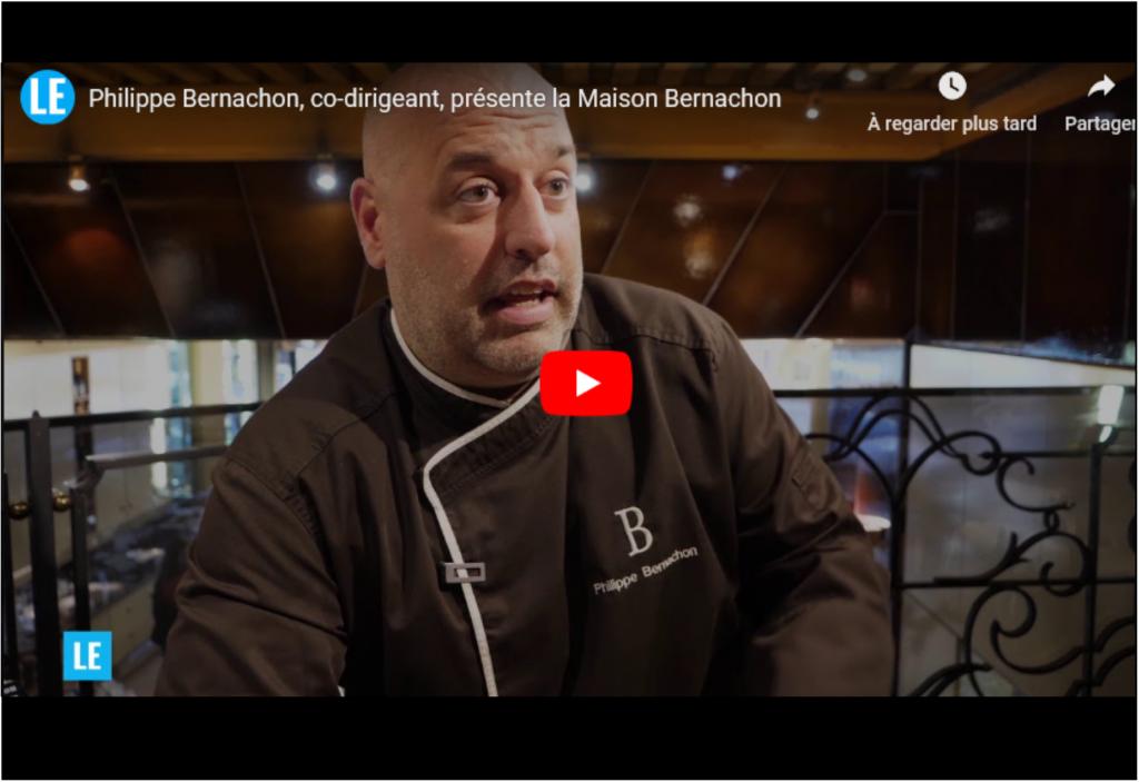 Philippe Bernachon, co-dirigeant, présente la Maison Bernachon