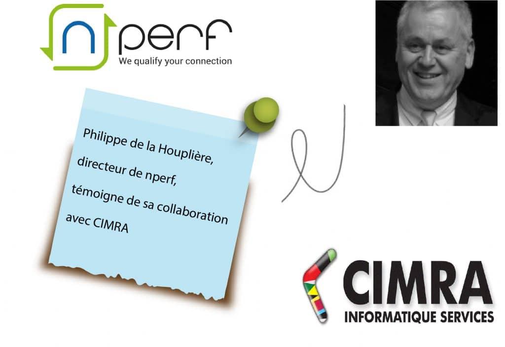 Philippe de la Houplière directeur de nperf nous parle d'Odoo et de sa collaboration avec CIMRA