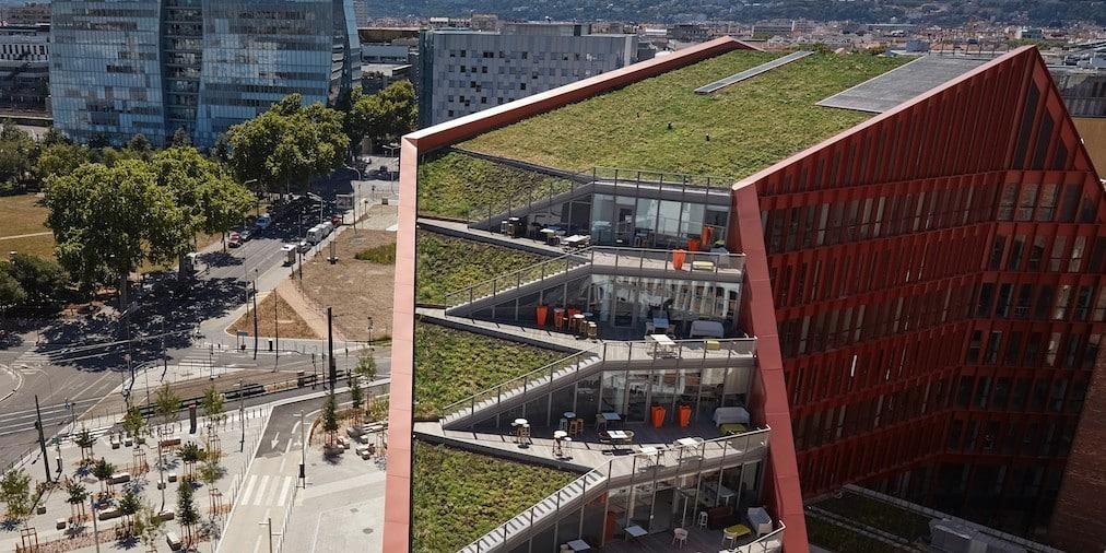 """Inauguration du """"Campus Orange Lumière"""" de 3 000 salariés en phase avec la nouvelle Part-Dieu voulue par Grégory Doucet"""