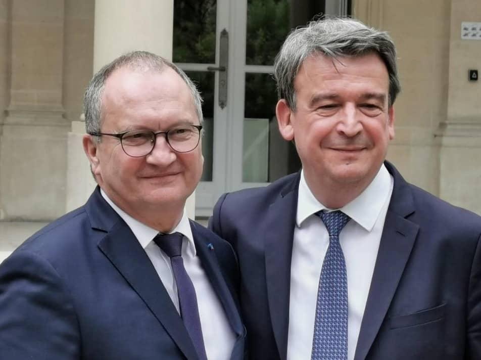 Le Périgourdin Olivier Salleron remplace le Rhônalpin Jacques Chanut à la présidence de la Fédération Française du Bâtiment