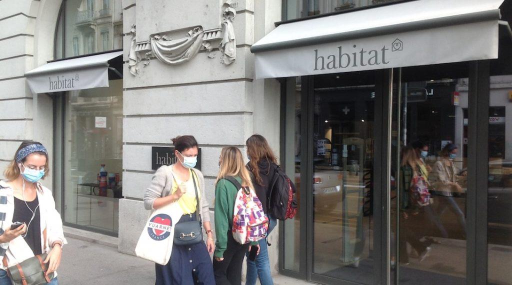 """C'est un magasin """"Habitat"""" à la superficie divisée par 2 qui a ouvert, le 31 août, ses portes au Grand Hôtel-Dieu"""