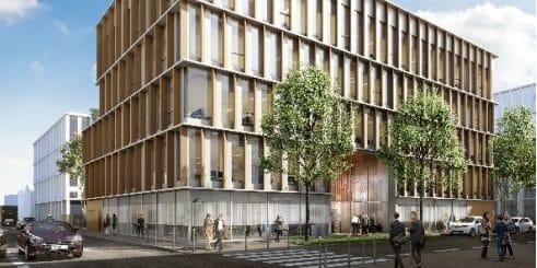 Vinci Immobilier lance la construction d'un immeuble de bureaux de 2 800 m² à Lyon-Gerland pour y installer une Ecole privée