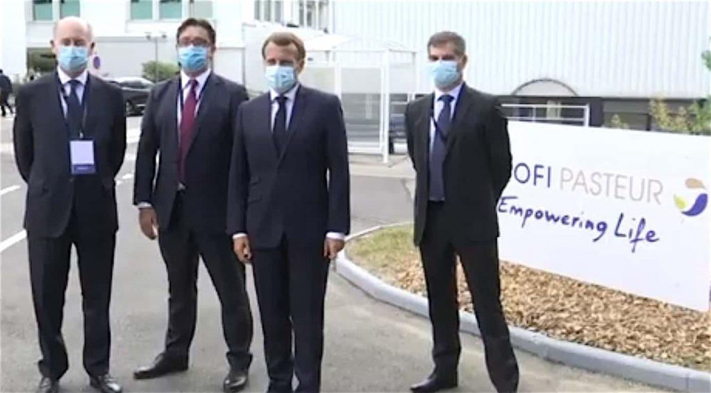 Après la visite d'Emmanuel Macron à Marcy-l'Etoile, Sanofi annonce un millier de suppressions d'emplois en France…