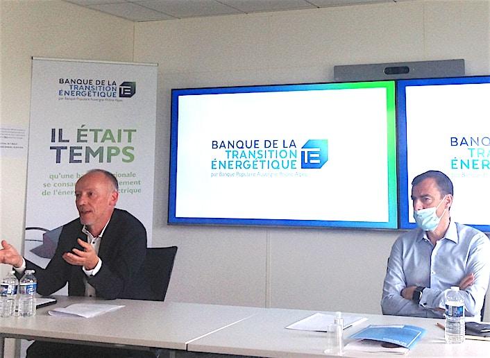 """La Banque Populaire Auvergne-Rhône-Alpes, 1ère en France à lancer une """"Banque de la Transition Energétique"""""""