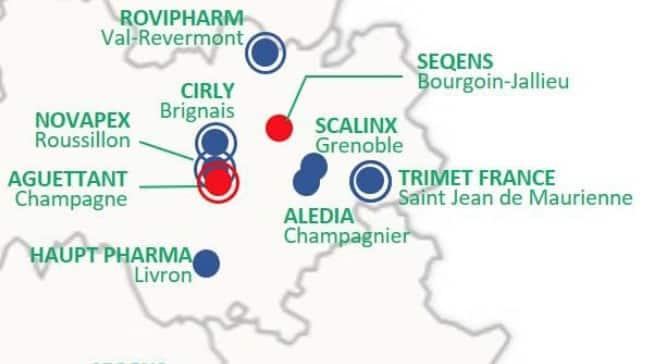 Sequens, Cirly, Aguettant, etc : Auvergne-Rhône-Alpes capte une dizaine de projets de relocalisation sur les 31 annnoncés en France