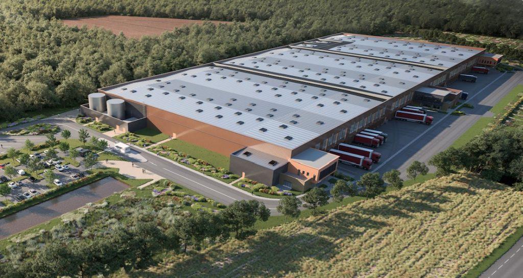 Le groupe immobilier lyonnais 6ème sens construit une plateforme logistique de 36000 m²