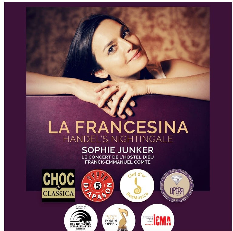 Un disque du concert de l'Hostel-Dieu à Lyon dirigé par Franck-Emmanuel Comte, meilleur album vocal baroque de l'année