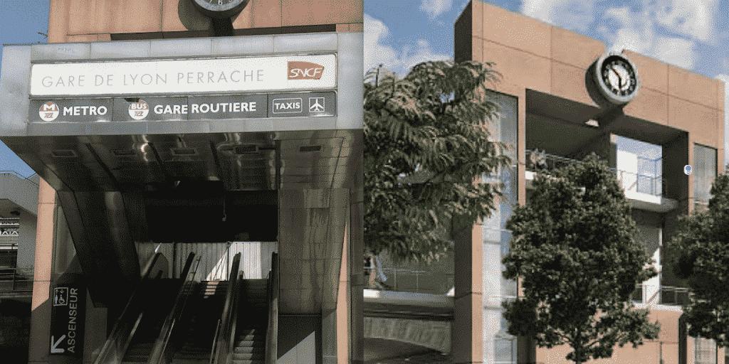 """Objectif, réunifier la Presqu'île lyonnaise : """"Goldorak"""" va disparaître, la gare  de Perrache s'ouvre enfin sur la Confluence"""