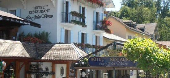 Et de 10 ! Une nouvelle acquisition pour le groupe lyonnais Lavorel : l'hôtel Jules Verne à Yvoire, au bord du Léman