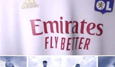 20 millions d'euros ? Remplaçant Hyundai, Emirates nouveau sponsor principal de l'Olympique Lyonnais