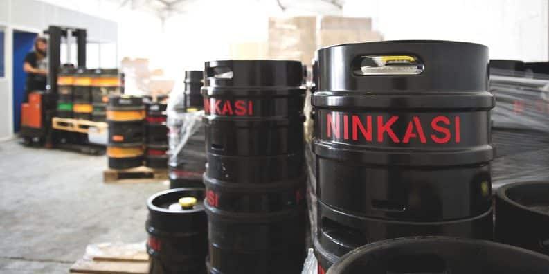 Le geste de Ninkasi envers ses distributeurs : le brasseur prend à sa charge les fûts de bière non consommés