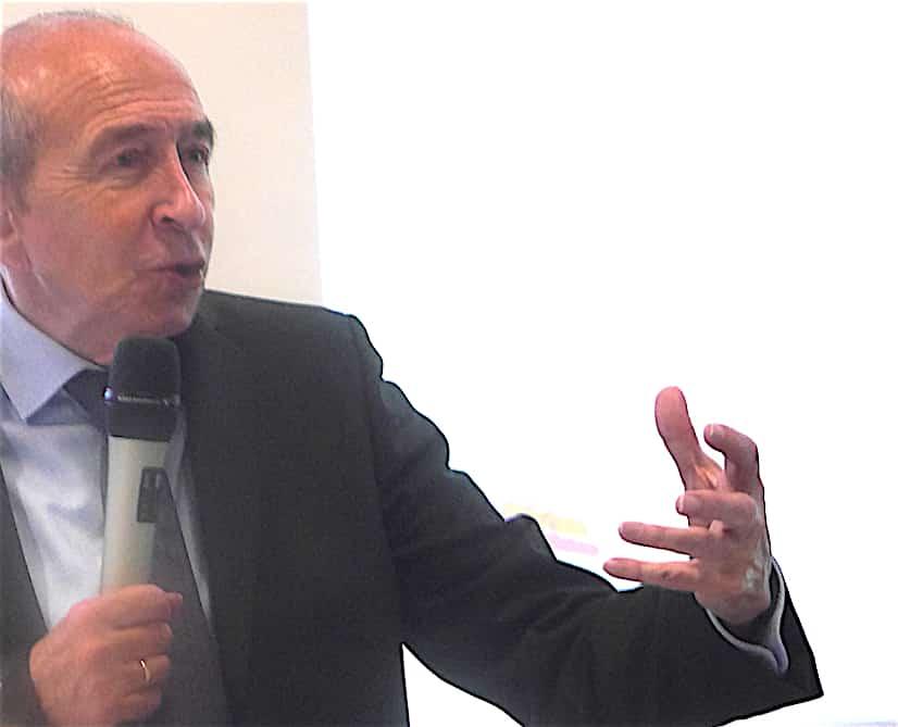 Lors de son grand oral devant le Medef, Gérard Collomb se prononce en faveur de l'Anneau des Sciences, et vite…