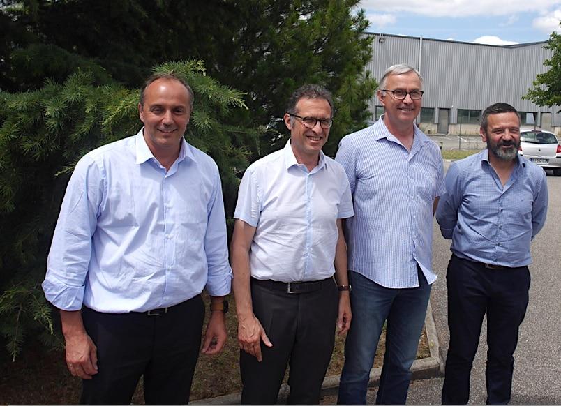"""Fruit de la fusion de la """"Coopérative Dauphinoise"""" et de """"Terre d'Alliances"""" : naissance du groupe coopératif agricole n°1 en Rhône-Alpes : Oxyane"""