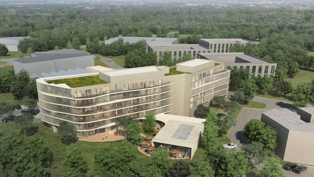 Deux nouveaux hôtels, avec restaurant et spa, en construction sur la zone d'activités Techlid dans l'ouest lyonnais