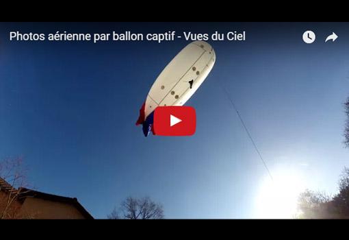 Photos aériennes par ballon captif : des clichés de haut vol !