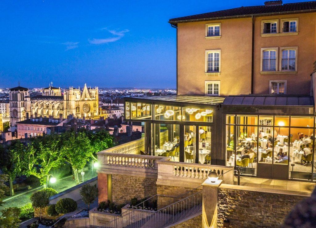 Nouvelle verrière panoramique de la Villa Florentine