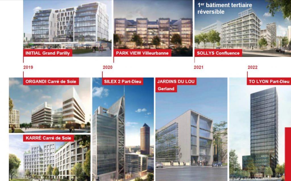 Plusieurs millions de m2 à venir: au Mipim à Cannes, la Métropole lyonnaise présente ses futurs immeubles de bureaux