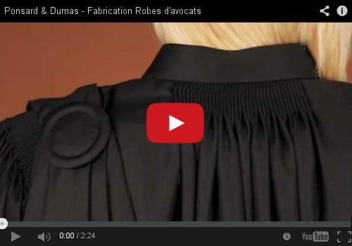 Ponsard & Dumas, confection de robes d'avocat et costumes de justice, mais pas que …