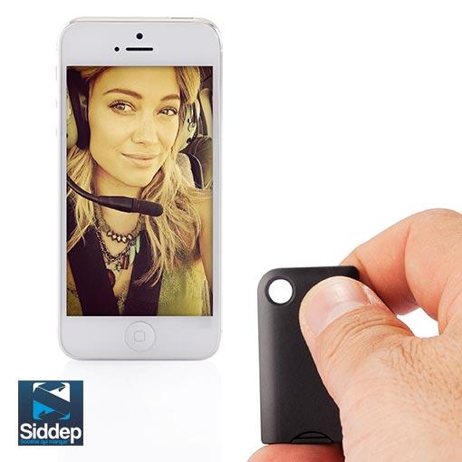 Porte clés connecté servant aussi de commande à distance pour les selfies depuis son smartphone