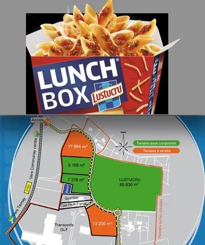 """Pour répondre au succès des """"lunch boxes"""" : Lustucru implante un nouveau site de production au sud de Lyon"""