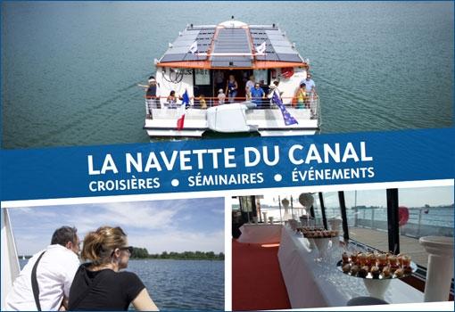 Privatisez la navette du canal pour une croisière séminaire