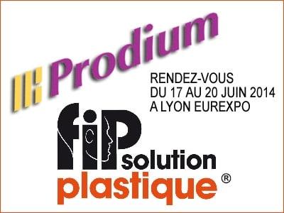 Prodium présent sur le FIP Solution Plastique du 17 au 20 juin