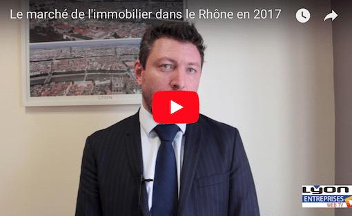 Record des ventes de logements en 2017 pour le Rhône