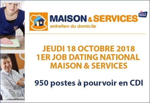 Recrutement National dans le Service à la personne avec 950 CDI à pourvoir : postulez chez Maison & Services Grand Lyon