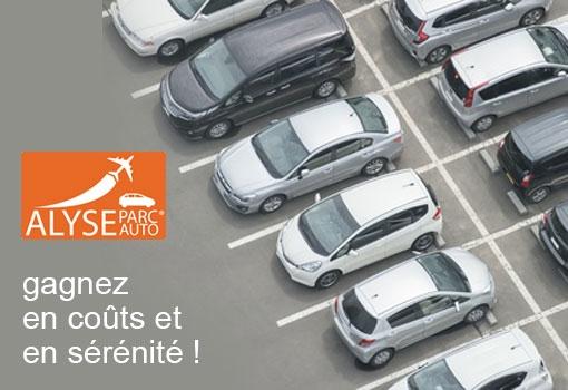 Réduisez vos coûts de stationnementaéroport : pensez FORFAITS PROS Alyse Parc Auto !