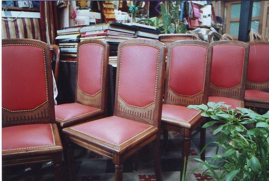 Réfection de sièges et de chaises