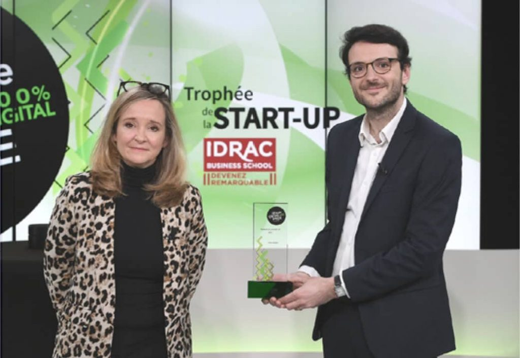 Nos Vignes remporte le trophée de la start-up de l'année à la Fête de l'Entreprise #16