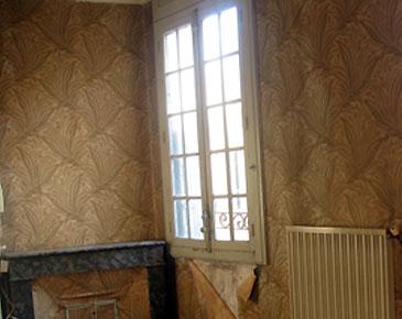 Rénovation de fenêtres anciennes