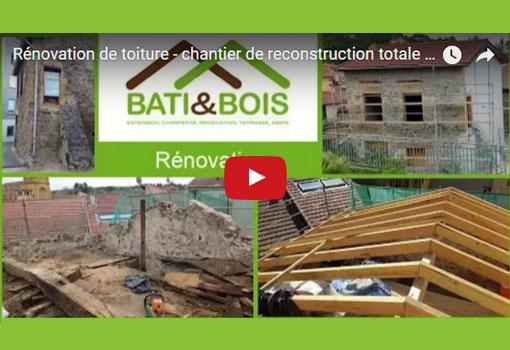 Rénovation de toiture – Bâti&Bois, spécialistes des charpentes et toitures