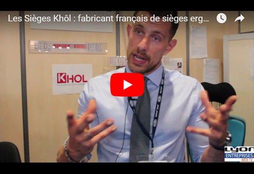 Retour sur les sièges ergonomiques Khol à l'occasion du salon Préventica Lyon 2018