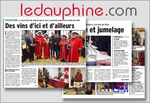 Retours sur l'Edition 2015 du 27 ème Salon Intervins avec le Dauphiné Libéré