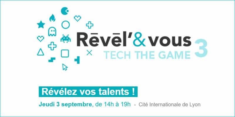 REVEL'&VOUS TECH THE GAME 3 : Jeudi 3 septembre en immersion au SIDO [CPME 69]