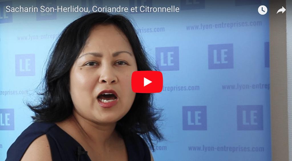 Sacharin Son-Herlidou fondatrice de Coriandre et Citronnelle
