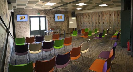 L'Atelier - concept de salle de réunion pour séminaires d'entreprises