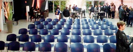 Salle de séminaire en disposition plénière