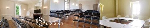 Salles de réception au Château de Rajat