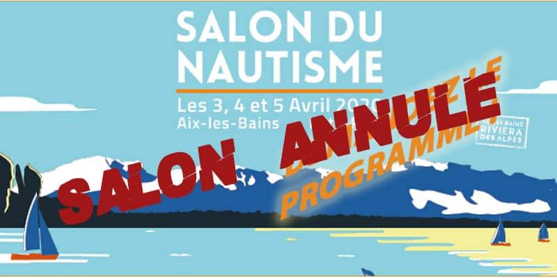 Programme de la 25ème édition du Salon du Nautisme d'Aix-les-Bains les 3, 4 et 5 avril 2020